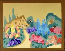 """Anna's Cottage, oil, 14x18"""" (2017)"""