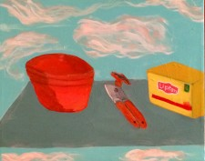 "Cloud Kitchen  16 x 20"" (2014)"