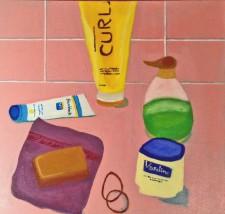 """Curls  20 x 20""""  (2013)"""