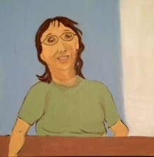 """Linda 20 x 20 """" (2015)"""