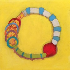 """Rosie's Rattle 12 x 12 """" (2014)"""