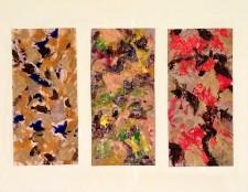 Triptych (panels # 28, 24, & 32)